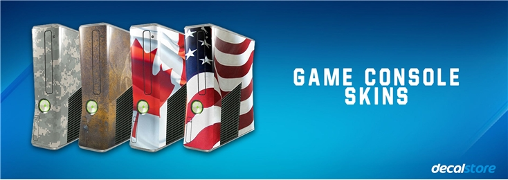 Browse our Xbox 360 Skins, PS3 Skins, Wii Skins & Guitar Hero Skins.