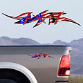 4x4 Decals Full Color TDG003 US Flag