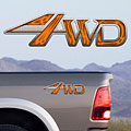 4x4 Decals Full Color TDG004 4wd