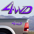 4x4 Decals Full Color TDG005