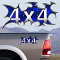 4x4 Decals Full Color TDG007