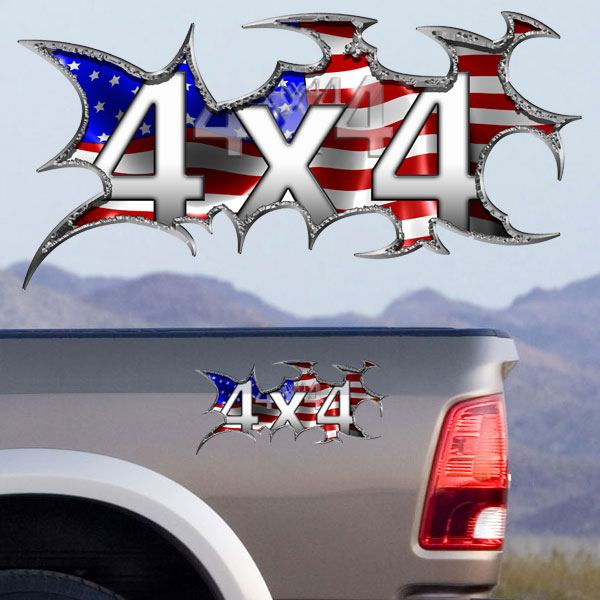 Colorful X Decals Vinyl Graphics Full Color Stickers For Your - Graphics for cars and trucksfull color flames graphics car truck decals truck decals