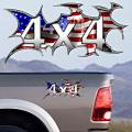 4x4 Decals Full Color TDG007 US Flag