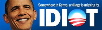 Kenya Village Missing its Idiot - Bumper Sticker