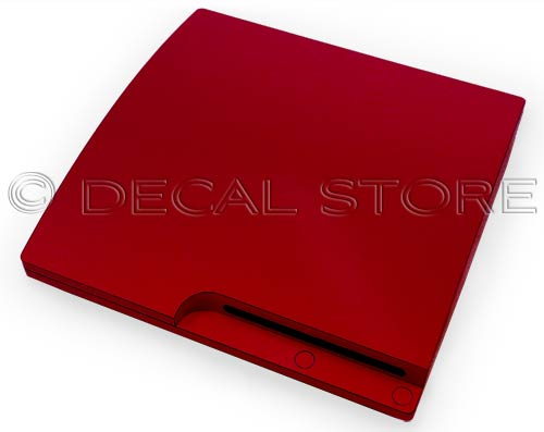 Red PS3 Slim Skin