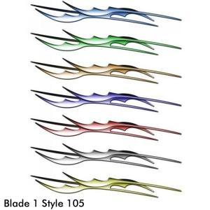 Style 105, Blade 1 Body Accent Graphic