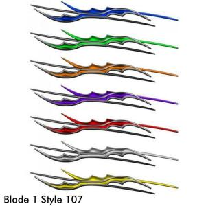 Style 107, Blade 1 Body Accent Graphic