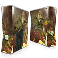 Dragon Fire Xbox 360 Slim Skin