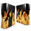 Real Flames 1 Xbox 360 Slim Skin