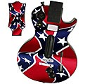 Guitar Hero 3 Les Paul skin - Rebel Flag 1