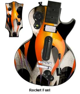 Guitar Hero 3 Les Paul skin - Rocket Fuel