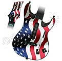 Guitar Hero World Tour Skin - USA Flag 1