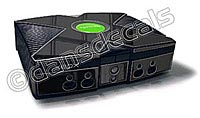 Black Chrome Xbox Skin