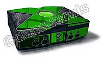 Green Chrome Xbox Skin