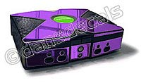 Purple Chrome Xbox Skin