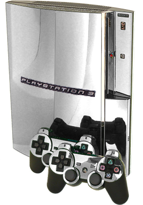 Chrome Mirror PS3 Skin