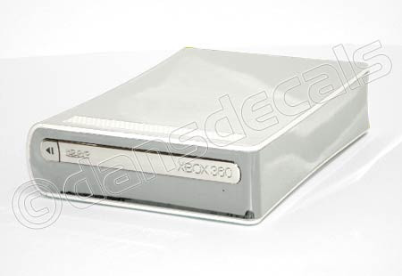 Chrome Mirror HD DVD Drive Skin for Xbox 360