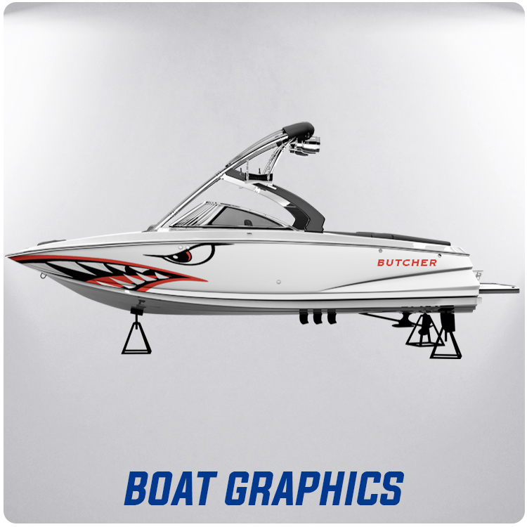 Full Color Boat Decals