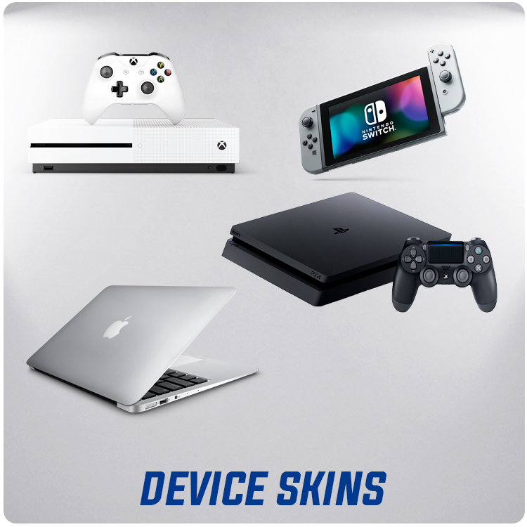 Skins for all your devices and game console systems