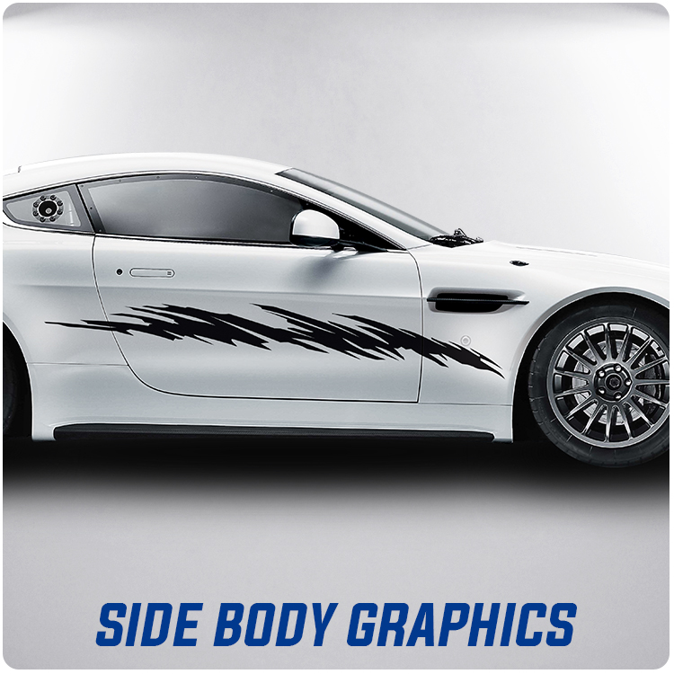 Car Side Body Graphics