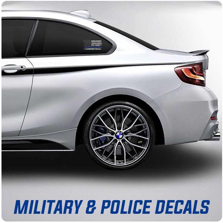 Military and Police decals!