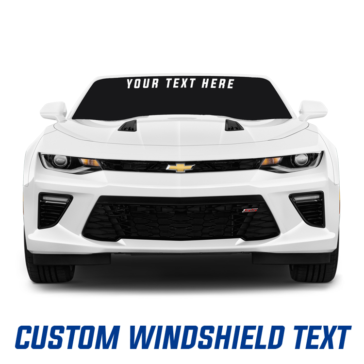 Custom Windshield Decals