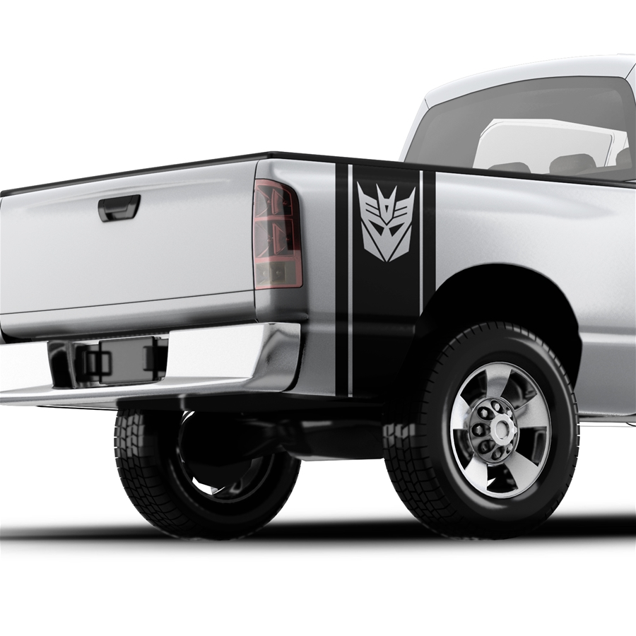 Transformers Decepticons - Pickup Truck Bed Band Decal