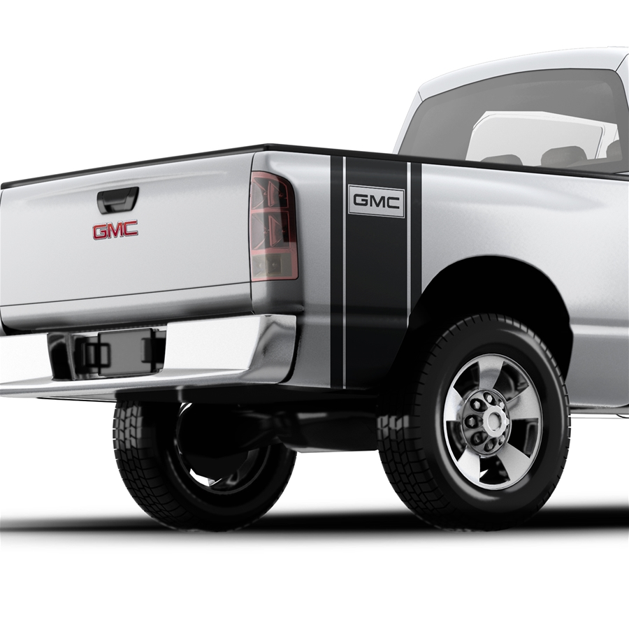 GMC 4x4 - Pickup Truck Bed Band Decal