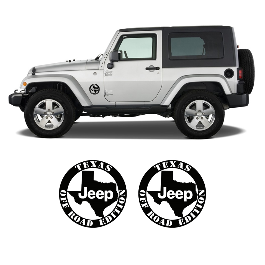 Jeep Texas off Road Edition Decal