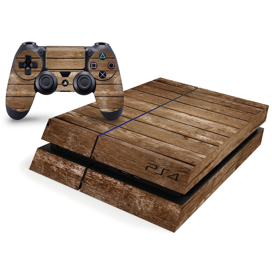 Playstation 4 Console Skin - Wood Pallet Pattern