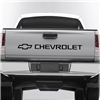 Chevrolet Logo tailgate decal graphic 045