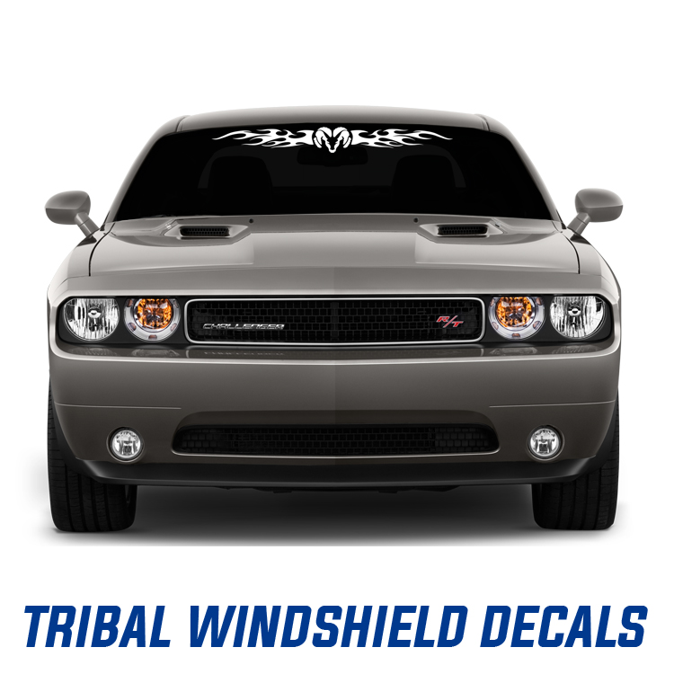 Tribal Windshield Decals