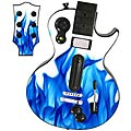 Guitar Hero 3 Les Paul skin - Blue Flames 1