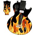 Guitar Hero 3 Les Paul skin - Real Flames 1