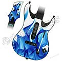 Guitar Hero World Tour Skin - Blue Flames 1