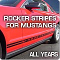 Rocker Stripes for Mustangs