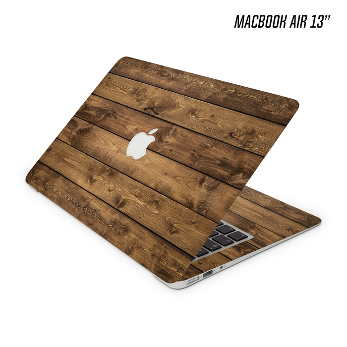 Macbook Air 13 Inch Wood Pallet Texture Skin
