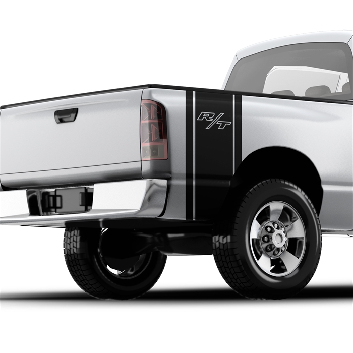 "Ram R/T ""Road/Track"" - Pickup Truck Bed Band Decal"