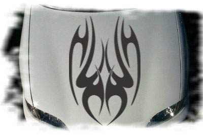 Tribal Hood Graphics - Aurora B705