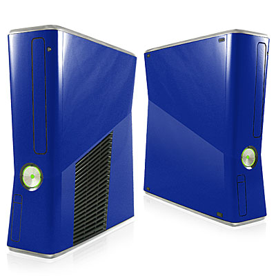 Dark Blue Xbox 360 Slim Skin