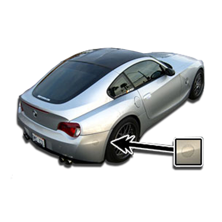 Bmw Z4 M Roadster: BMW Reflector Decals / Covers