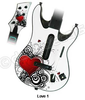 Guitar Hero World Tour Skin - Love 1