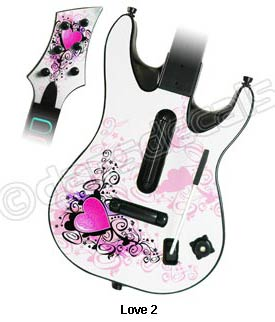 Guitar Hero World Tour Skin - Love 2