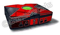 Red Chrome Xbox Skin